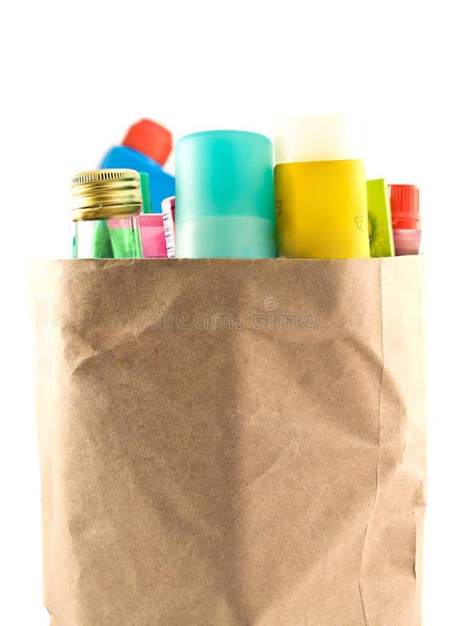 Productos químicos imagen de archivo libre de regalías