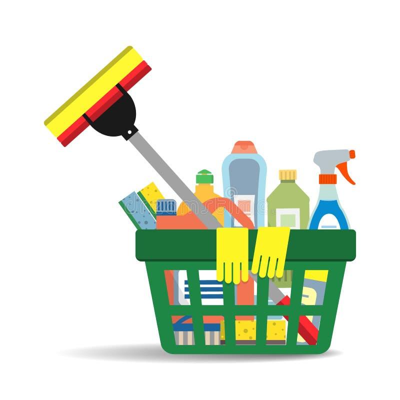 Productos y accesorios de limpieza del hogar en la cesta for Articulos para limpieza del hogar