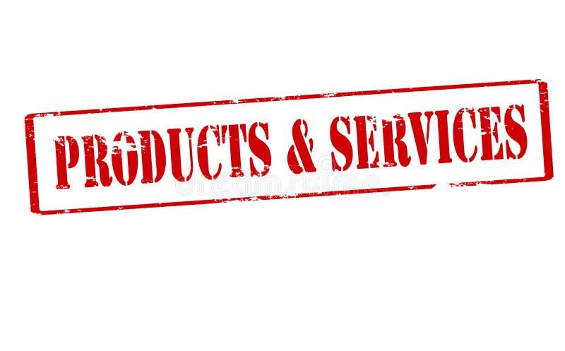 Productos y servicios libre illustration