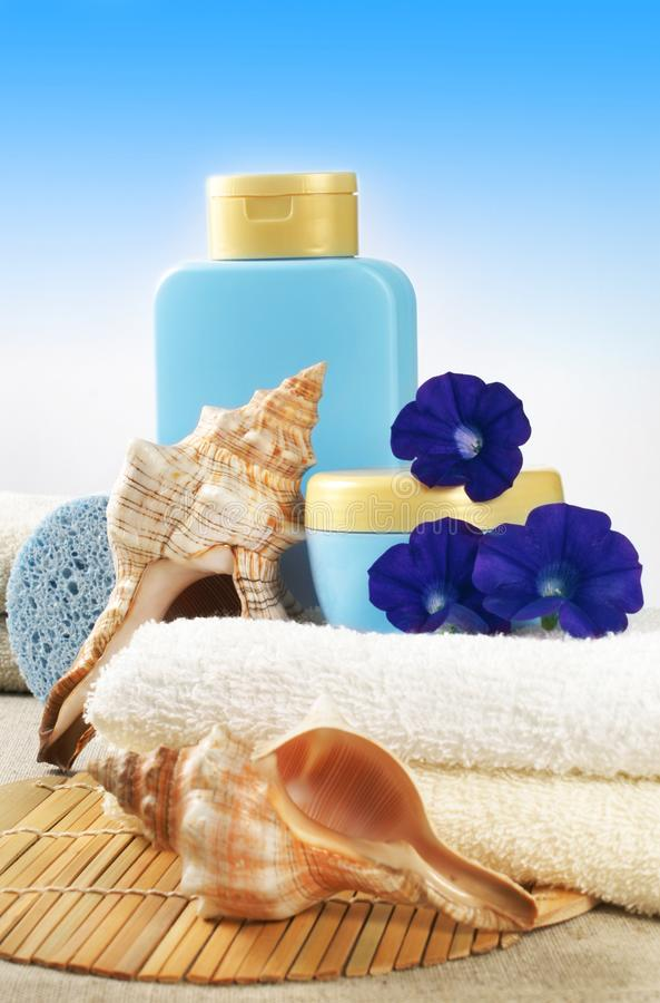 products spa στοκ εικόνα