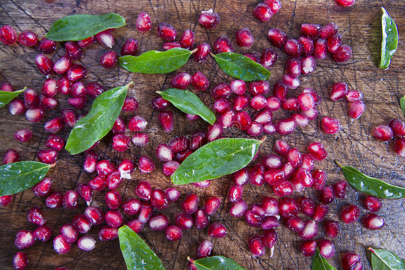 Produit d'Autumn Season Pomegranate photo libre de droits