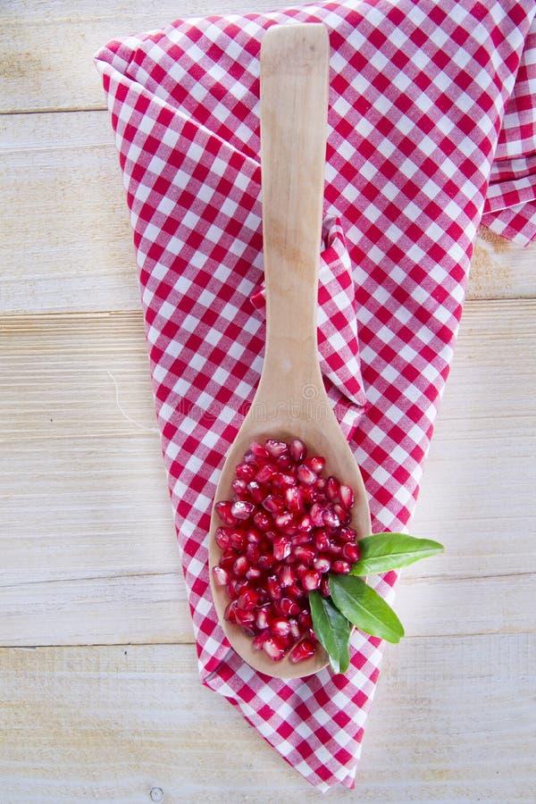 Produit d'Autumn Season Pomegranate images libres de droits