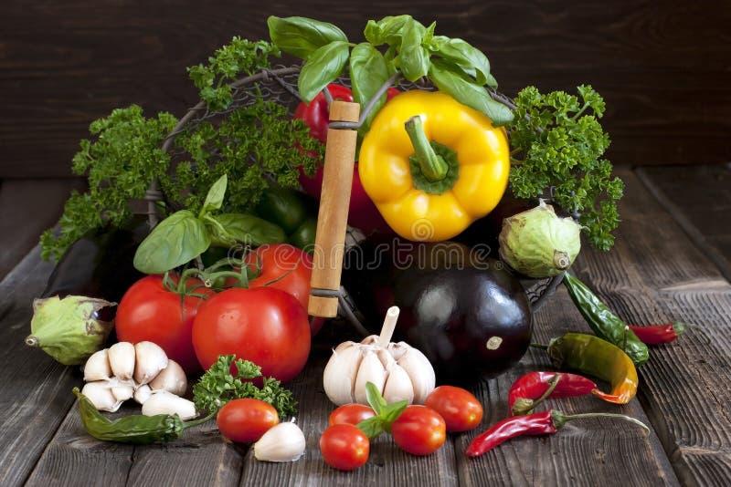 Produit-légumes frais de vegetables Nourriture saine photographie stock libre de droits