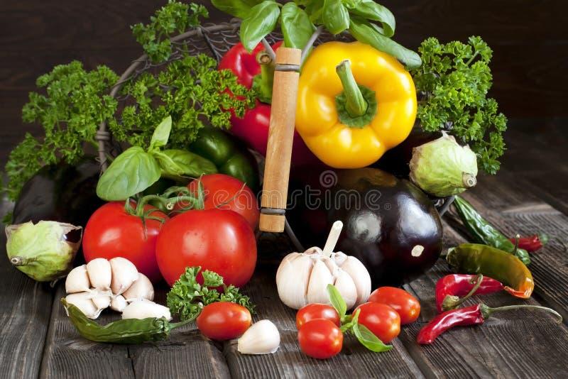 Produit-légumes frais de vegetables Nourriture saine photo libre de droits