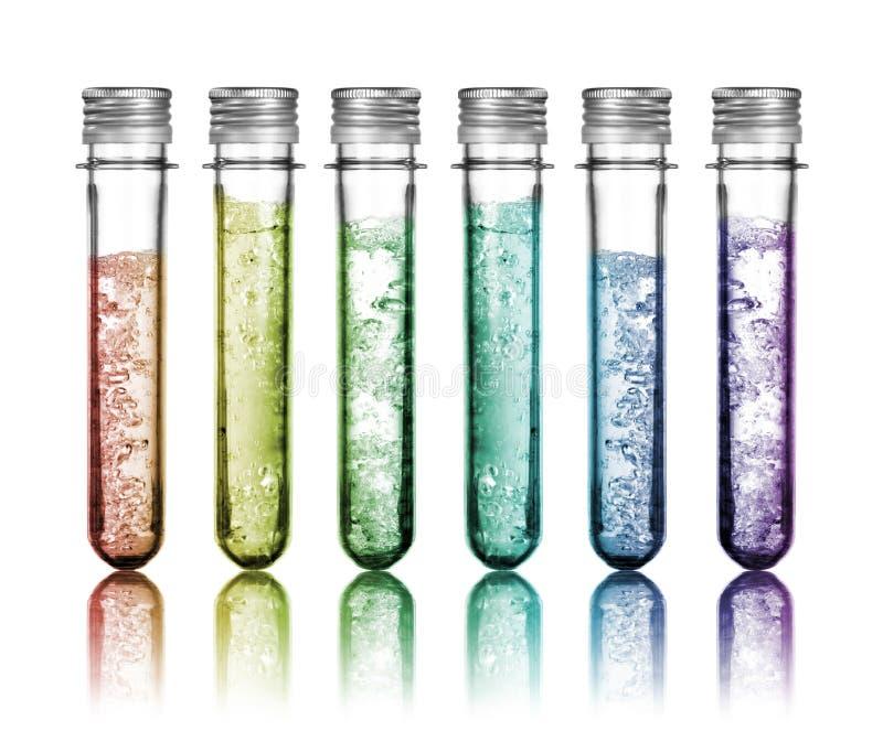 produits chimiques colorés photos libres de droits