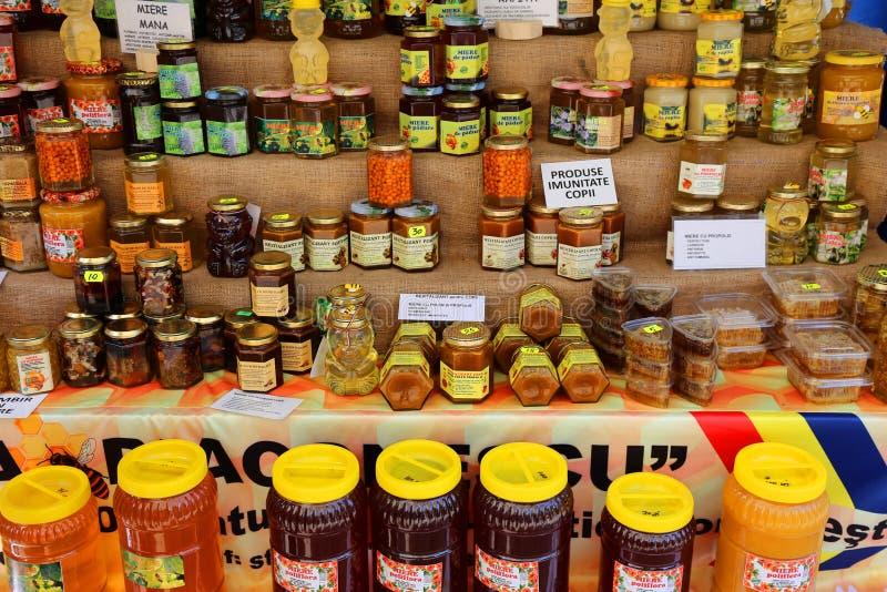 Produits d'abeille photo libre de droits