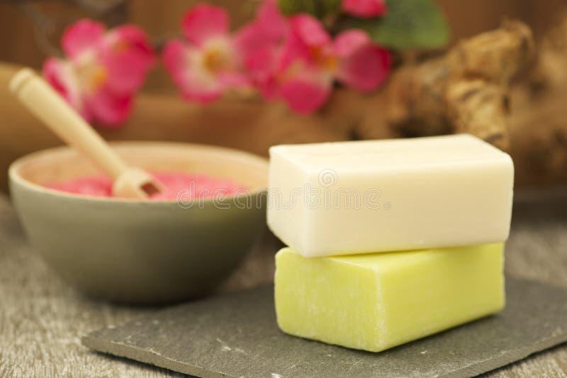 Produits de Bath images stock