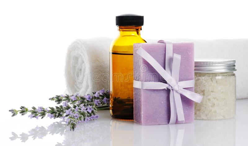 Produits de Bodycare photo stock
