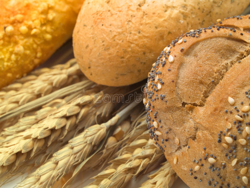 Produits de boulangerie photo libre de droits