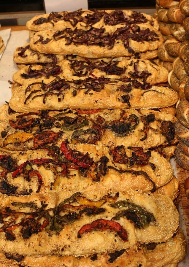 Produits de pain et de boulangerie images libres de droits