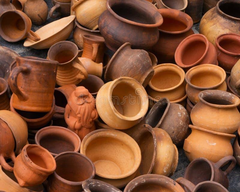 Produits de poterie photos libres de droits
