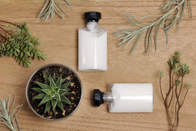 Produits de soin pour la peau photo libre de droits