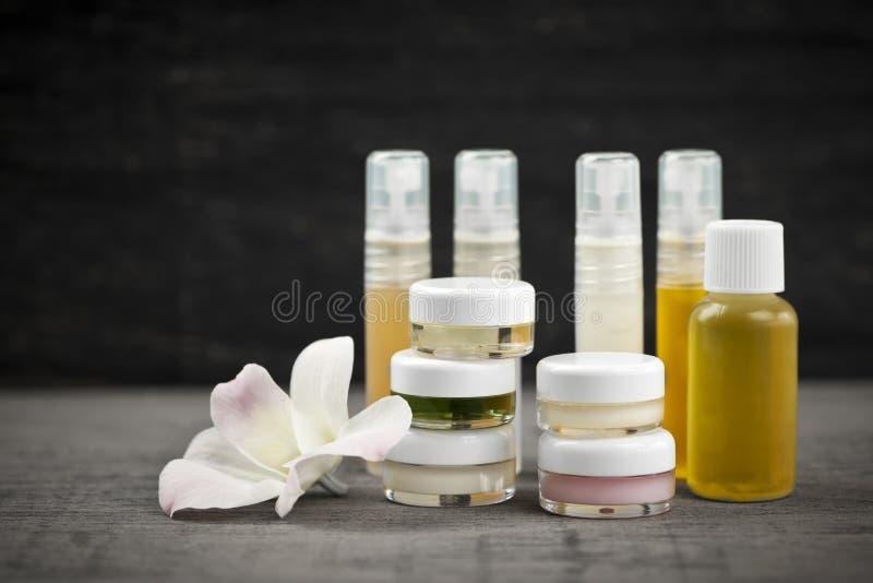 Produits de soin pour la peau photos stock