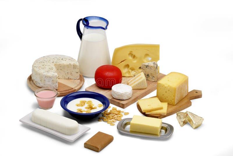 Produits laitiers image stock