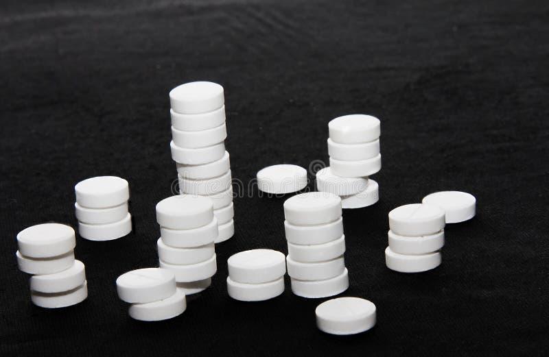 Produits médicaux sous forme de tablettes photographie stock