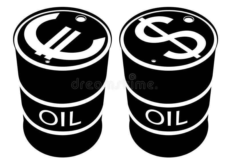Produits pétroliers illustration de vecteur
