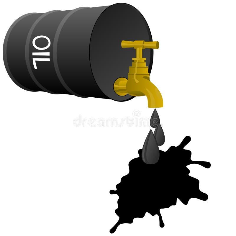 Produits pétroliers illustration stock
