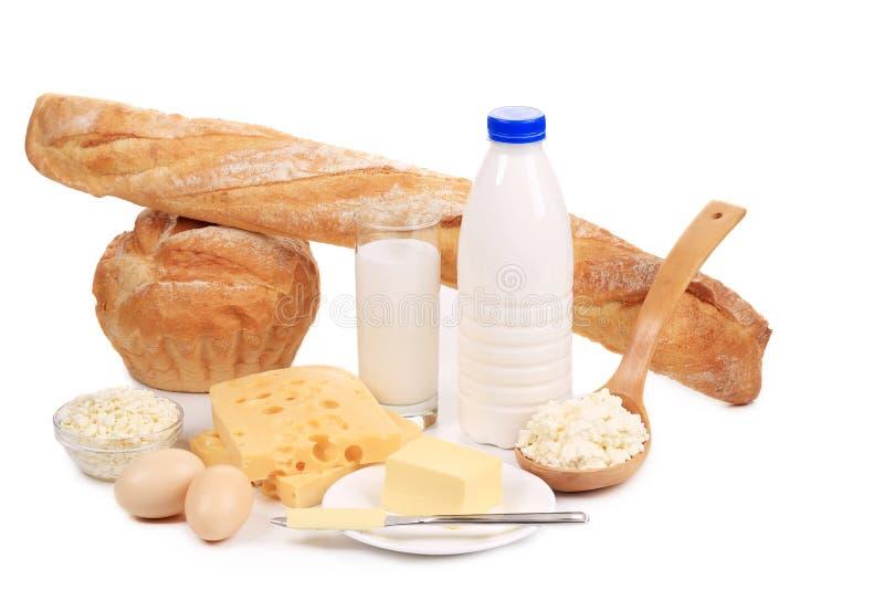 Produits sains de petit déjeuner. image libre de droits