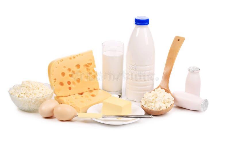 Produits sains de petit déjeuner. images stock