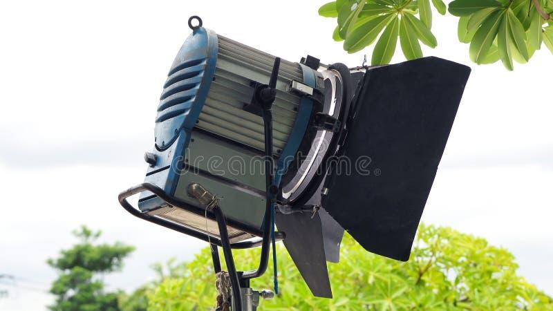 Produkci lekki wyposażenie dla wideo lub filmu strzelaniny zdjęcie royalty free