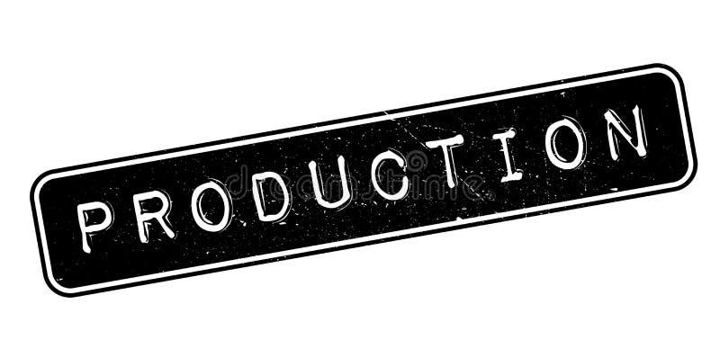 Produkci pieczątka ilustracja wektor