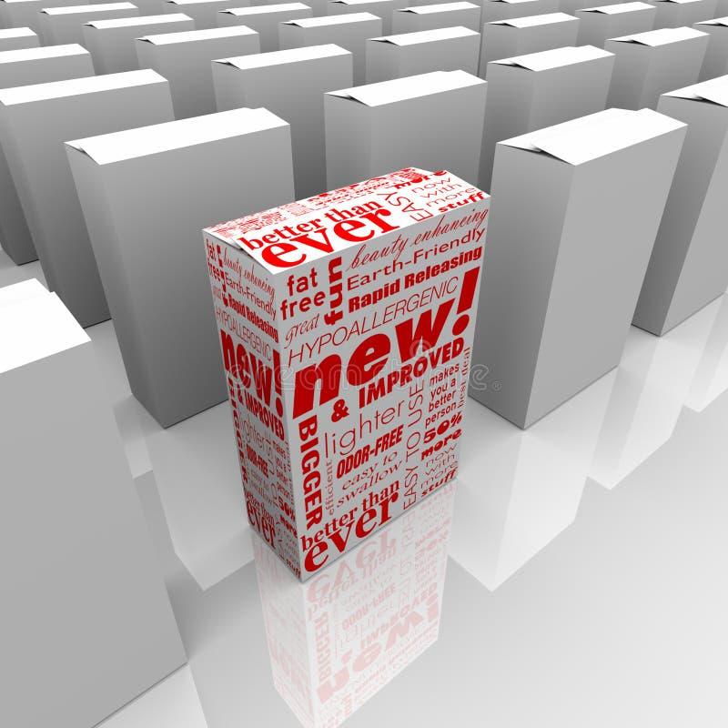 produktów ulepszający nowi stojaki nowy ilustracji