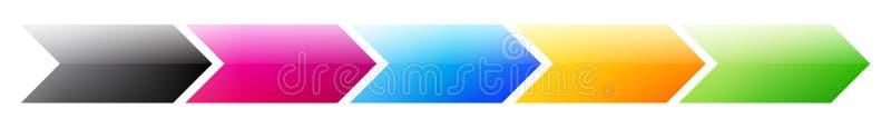 produkt för affärsdiagrambehandling royaltyfri illustrationer