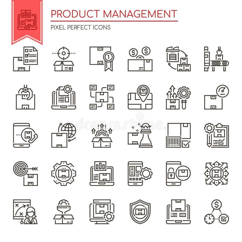 Produkt-Management lizenzfreie abbildung