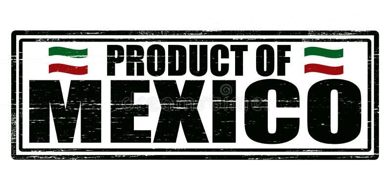 Produkt Meksyk ilustracji
