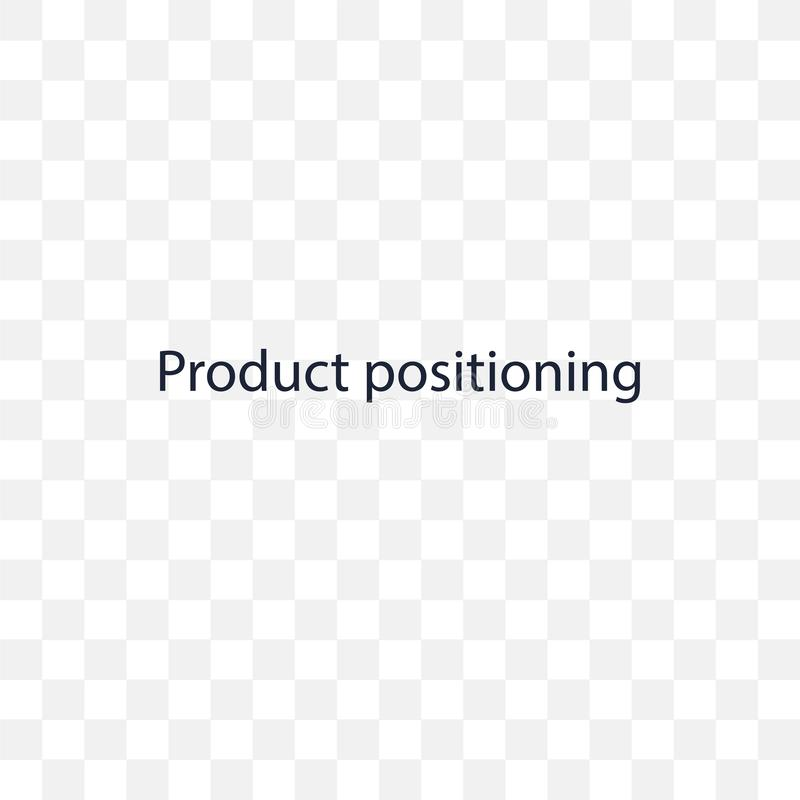 Produkt Ustawia przejrzystą ikonę Produkt Ustawia symbol royalty ilustracja
