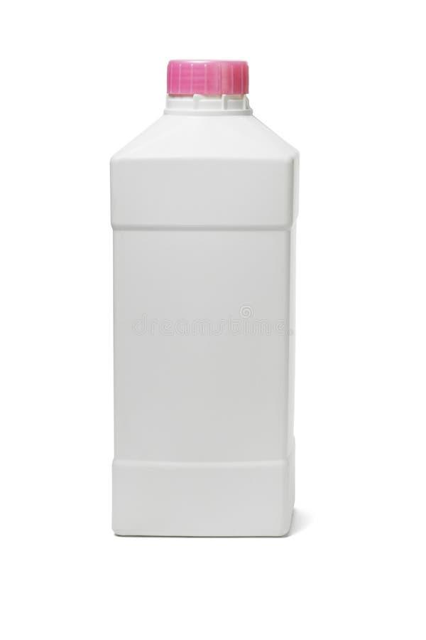 produkter för plast- för hushåll för flaskcleaning arkivbild