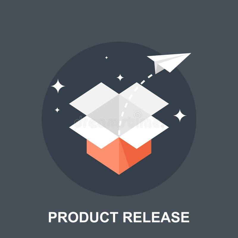 Produktfrigörare stock illustrationer