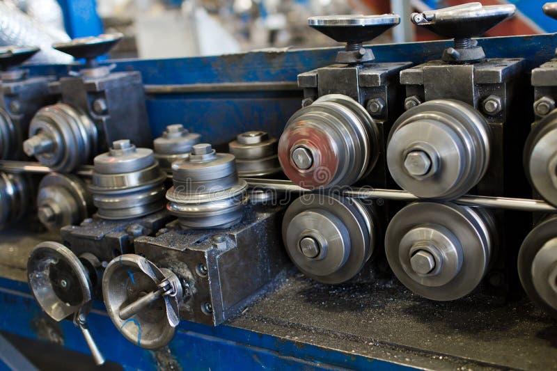Produktion der Drahtmaschine stockbild