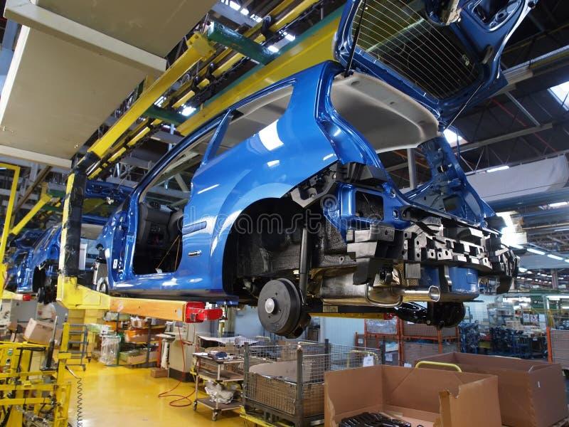 produktion för 8 bil arkivfoton