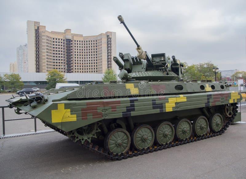Produktion för ukrainare för infanteri för stridighetmedel royaltyfri bild