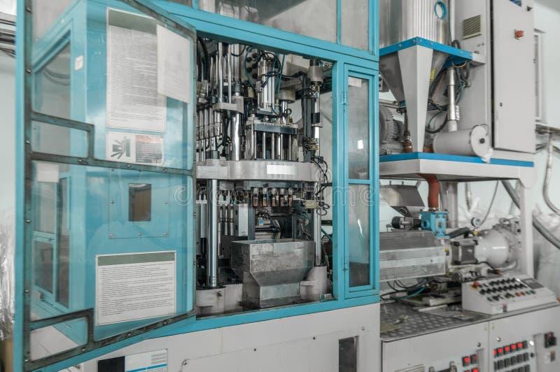 Produktion von HAUSTIER-Vorformlingen stockfoto