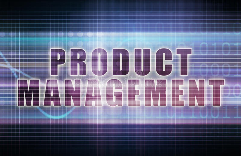 Produktledning stock illustrationer