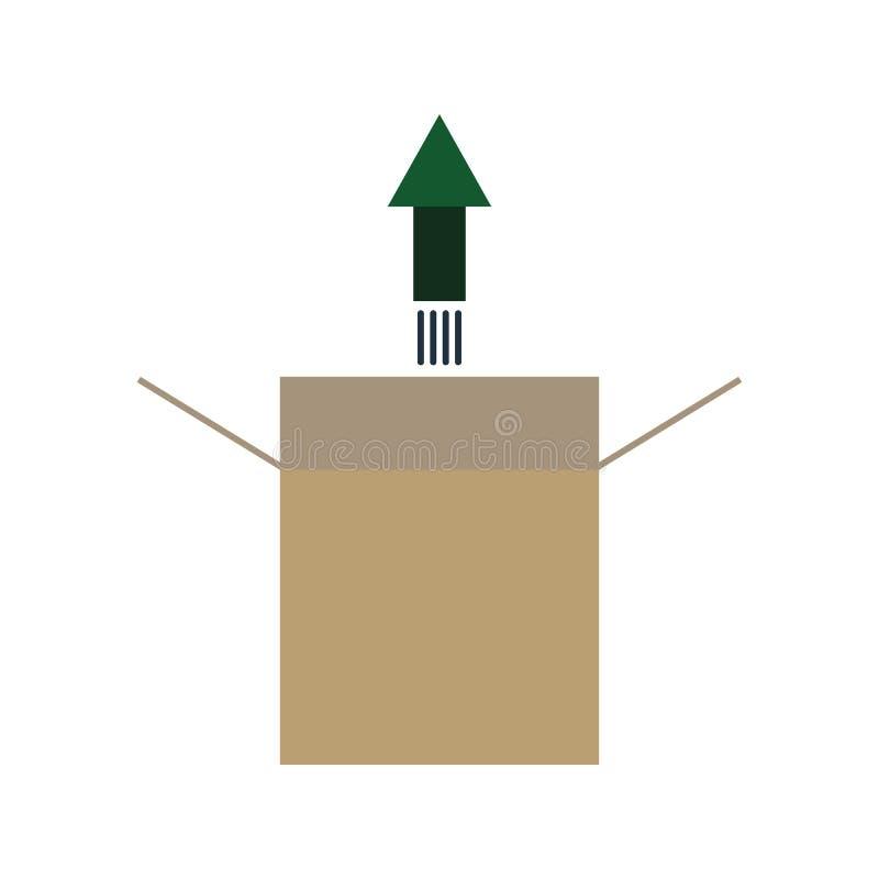 produktu uwolnienia ikona ilustracji