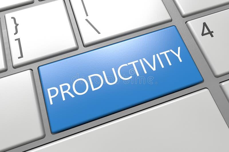 produktywność ilustracja wektor