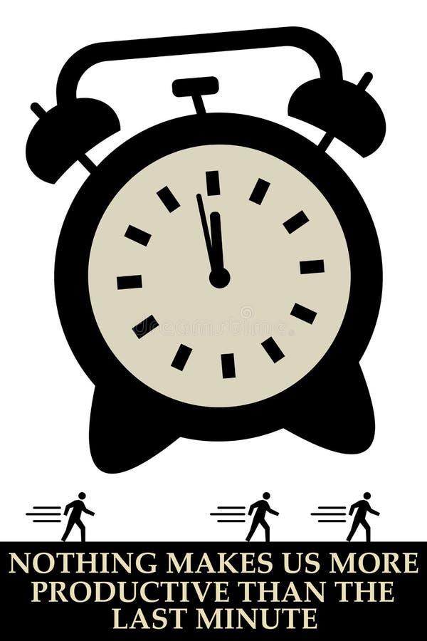 Download Produktywny ilustracji. Ilustracja złożonej z firma, zegar - 28958469
