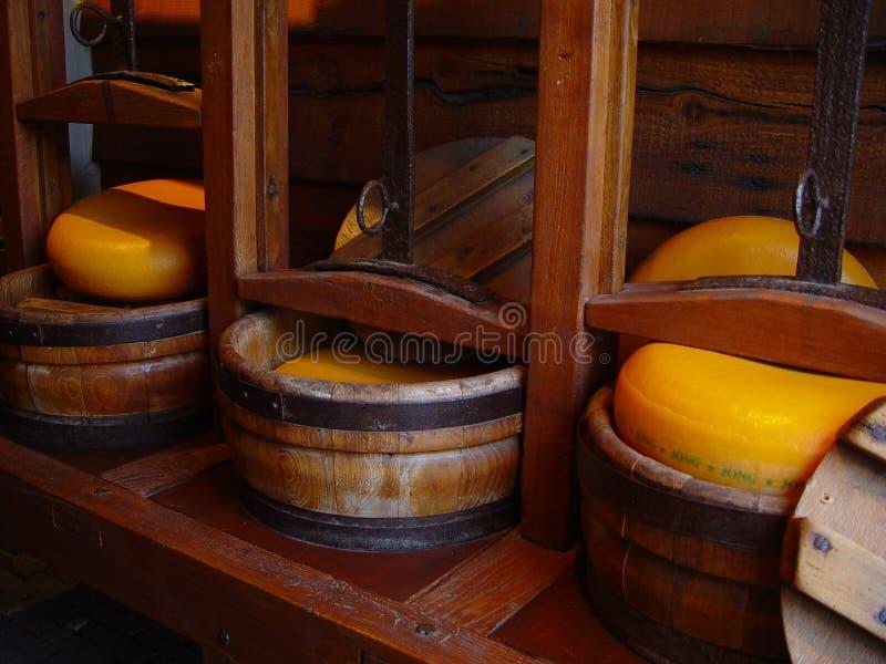 Produrre formaggio immagine stock