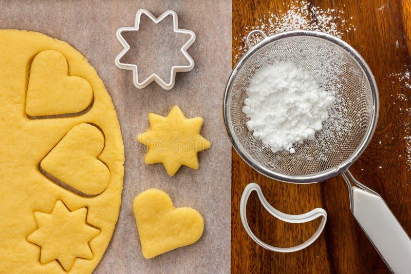 Produrre i biscotti immagini stock