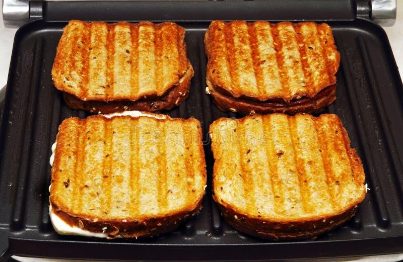 Produrre i pani tostati immagini stock