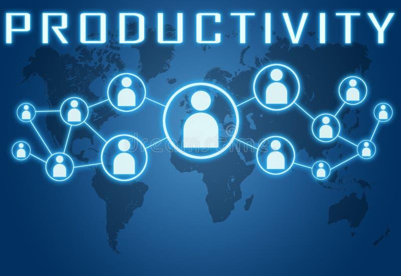 produtividade ilustração stock