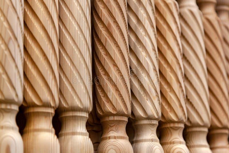 produto de madeira do close-up do pinho foto de stock