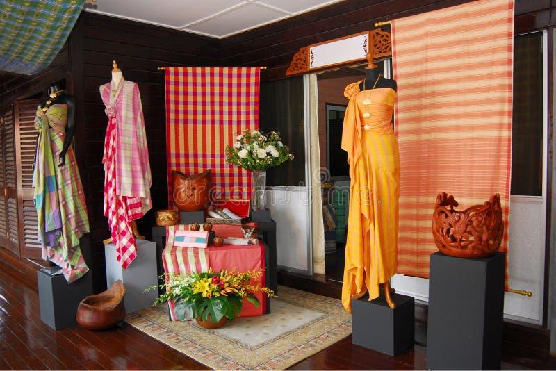 Produto dos artesanatos da tecelagem de Pahang imagem de stock royalty free