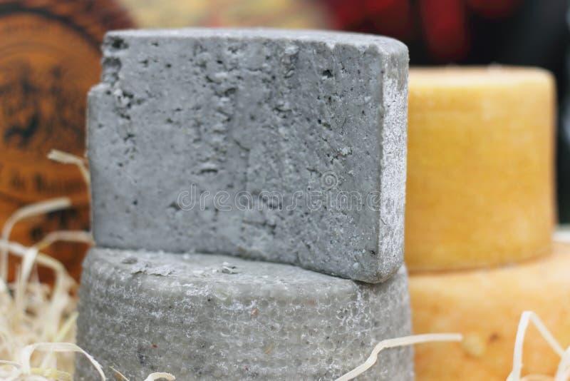 Produto ecológico natural do queijo imagem de stock royalty free