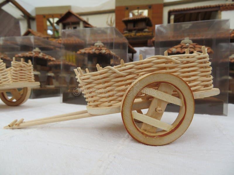 Produtos bonitos do artesão fabricados pelas mãos peritas foto de stock