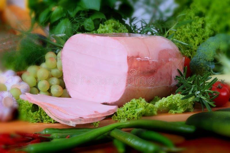 Produtos da carne de porco imagem de stock