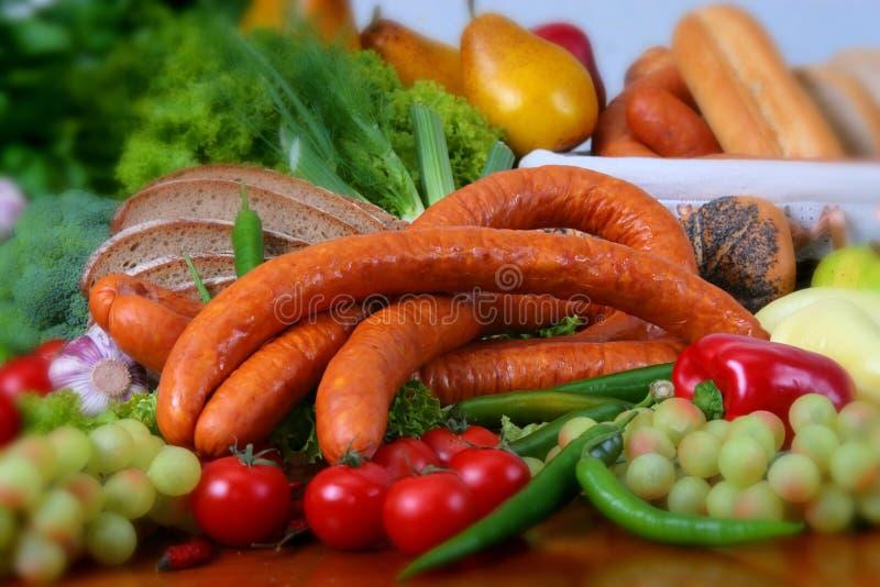 Produtos da carne de porco imagens de stock